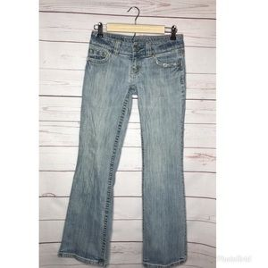 American Eagle flare jeans size 0